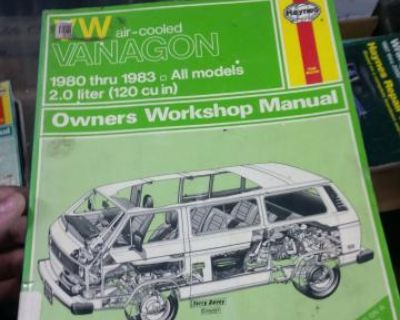 Haynes vanagon 1980-83 manual