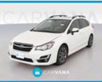 2016 Subaru Impreza White, 70K miles