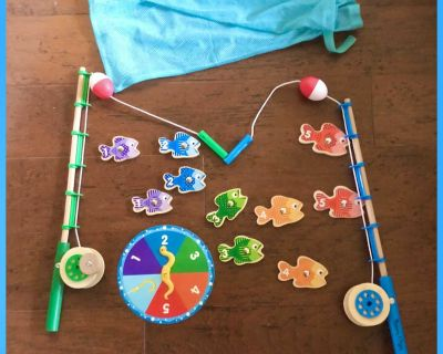 Melissa and Doug Catch and Count Fishing Rod Magnetic Game Set