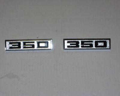 70 71 72 El Camino 350 Fender Emblem
