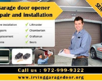Expert Garage Door Opener Repair   Irving Dallas, 75039 TX   $25.95