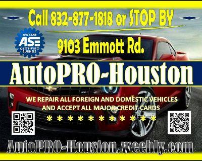 Auto Repair and Maintenance Houston Harris County TX