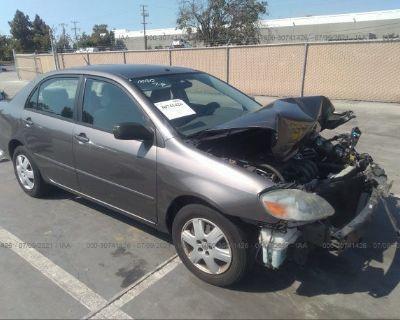 Salvage Gray 2007 Toyota Corolla