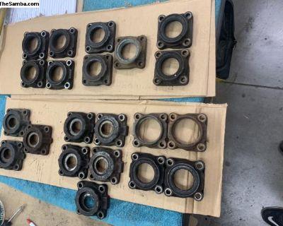 Wheel bearing end caps