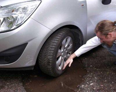 Damage wheel and tire wheelrepair service