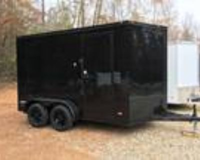 Not In Stock, Special Order! 7ft X 12ft Deluxe Enclosed Cargo Trailer