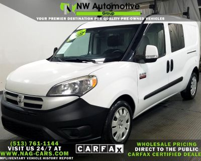 "2016 RAM ProMaster City Cargo Van 122"" WB Tradesman SLT"