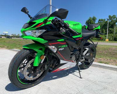 2021 Kawasaki Ninja ZX-6R ABS KRT Edition Supersport Orlando, FL