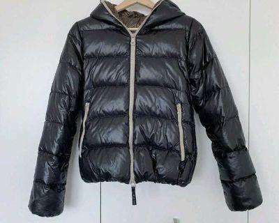 Duvetica black puffer jacket