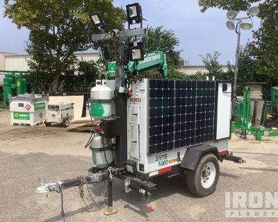 2014 (unverified) Progress Solar Solutions SLT-1000 Solar Light Tower