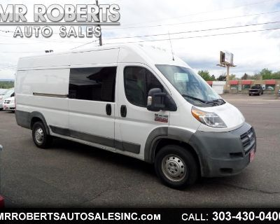 """2016 RAM ProMaster Cargo Van 3500 Extended High Roof 159"""" WB"""