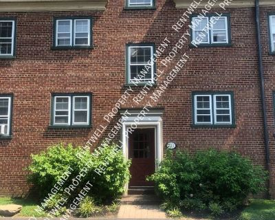 2 BR 1BA Apartment Near Fairmount  & Temple University  PA August 15th Move in