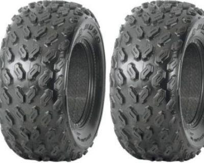 (2) Duro Dik167a 22x9-10 Kawasaki Mule O.e. Replacement Tires 22x900-10