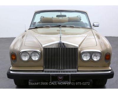 1977 Rolls-Royce Corniche
