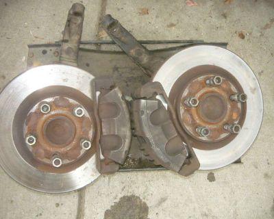 Update- 2002 Camaro Z28 Parts - New Shocks/Springs Big Brakes Billet Grill T-tops