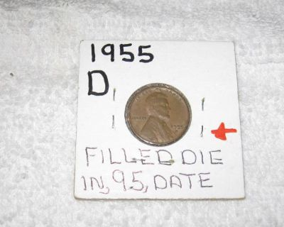 1955 D Lincoln Wheat Penny