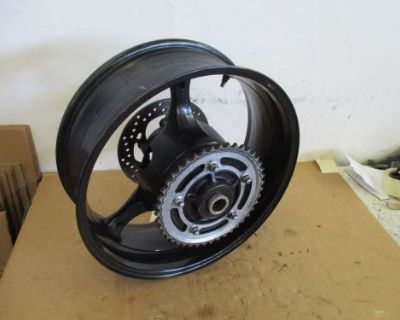 07 08 Suzuki Gsxr 1000 Rear Wheel With Sprocket And Rotor Gsx-r Rear Wheel 1000