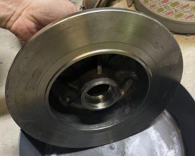 NOS Disc Brake Rotors for Karmann Ghia and Beetle