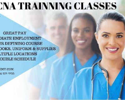 We provide Certified Nurse Assistant Classes..