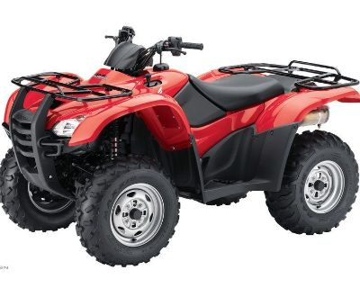 2012 Honda FourTrax Rancher AT with EPS ATV Utility Iowa City, IA