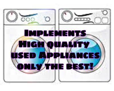 High quality appliances Great prices!!!