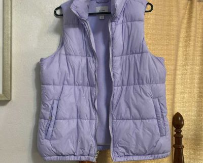 Old Navy Lilac Puffer Vest