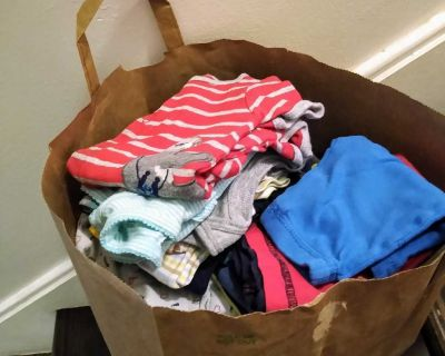 Bag full of Baby Boy clothes, NB and 0-3 months