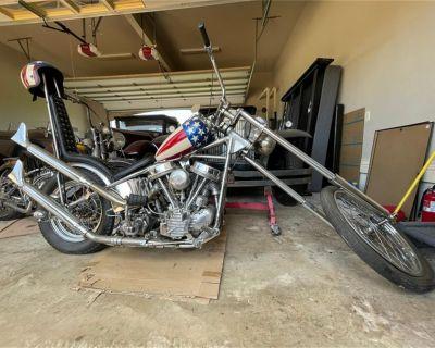 1952 Harley-Davidson Motorcycle