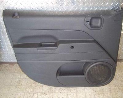 09 10 Jeep Patriot Left Driver Side Front Manual Window Oem Door Trim Panel