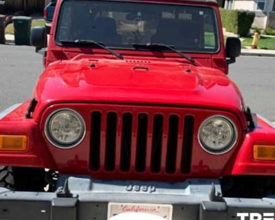 2004 Jeep Wrangler Sport Right Hand Drive