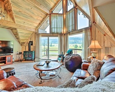 NEW! Remote Elk City Escape w/ Decks & Mtn Views! - Dixie