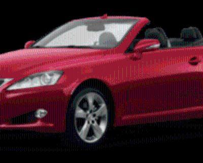 2011 Lexus IS IS 250C