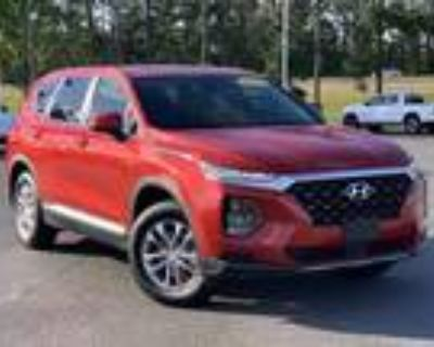 2019 Hyundai Santa Fe Red, 44K miles