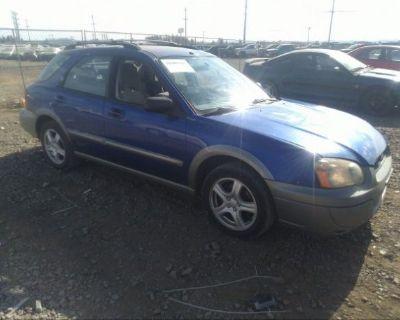 Salvage Blue 2004 Subaru Impreza Wagon