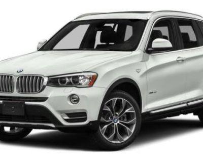 2016 BMW X3 28i