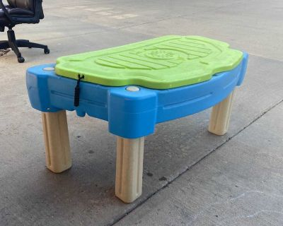 Sand or Water Table Step 2
