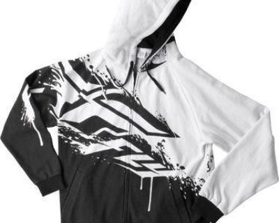 2014 Fly Racing Inversion Hoody Black/white