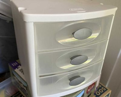 Small drawer storage container