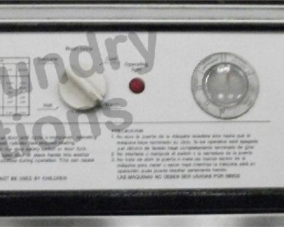 Wascomat Front Load Washer 208-240v Stainless Steel W124