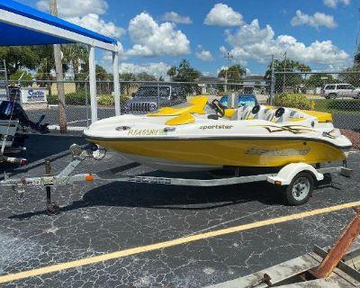 2005 Sea-Doo Sport Boats Sportster (155 hp)