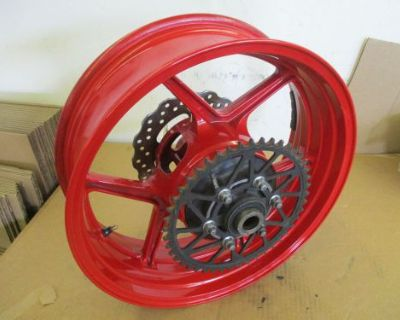 05 06 Kawasaki Zx6 636 Rear Wheel 636 Rear Wheel Zx6 Rear Rim
