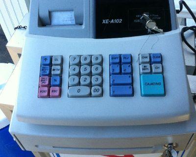 Sharp XE-A102 electric cash register