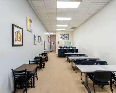 Downtown Classroom, Private Office, Patio and Innovation Collaborative Meeting Space on Main Street, Martinez, CA