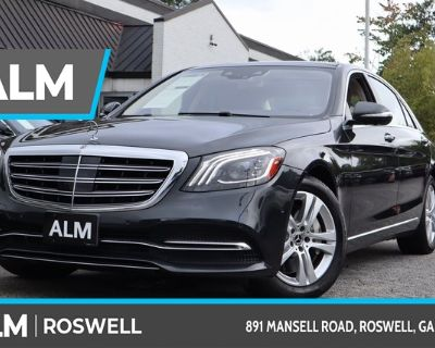 Pre-Owned 2018 Mercedes-Benz S-Class S 560 With Navigation