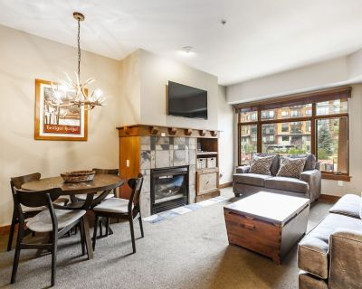 Fresh and Fun Condo - Ski in Ski Out, Jetted Tub, Fireplace, Two Suites - Park City
