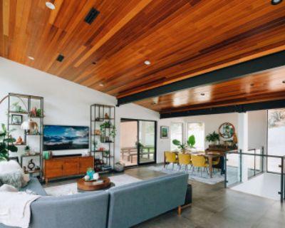 Modern Hillside Home with Mid Century interior design, Los Angeles, CA