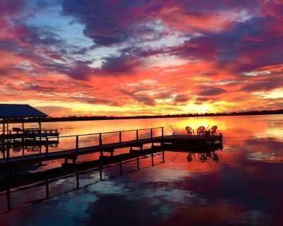Relax/Watch Sunsets & Birds Over Lake, Between Lk Placid & Sebring - Highlands County