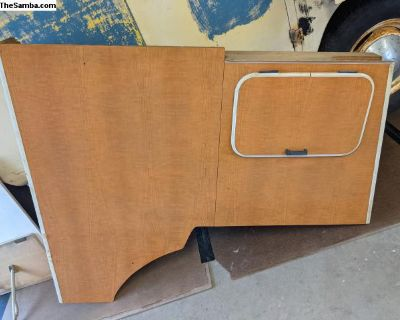 Westfalia SO42 cabinets and tables