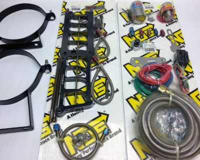 Nitrous Oxide System Kit # 02119-nbsnos Big Shot System Max 1986-1995 5.0 Ford