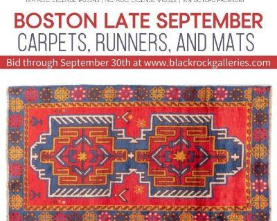 BOSTON LATE SEPTEMBER RUGS, CARPETS, RUNNERS, & MATS